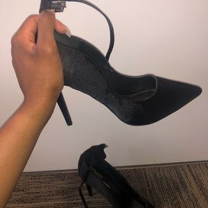 Fashion Nova Shoes - Black Heels
